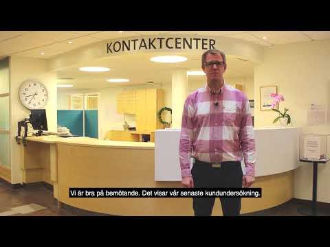 Kontaktcenter utvecklar sin service