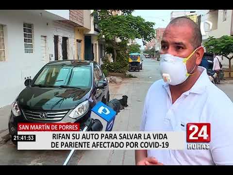 Familia que rifa auto también vendería su casa para salvarle la vida a paciente grave con COVID-19
