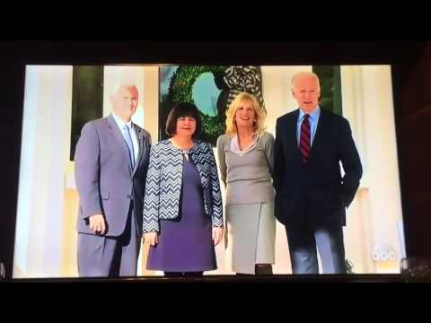 "Joe Biden ""Are you smiling right now because you genuinely like Mike Pence Joe Biden     hd"