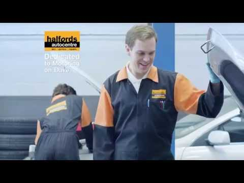 Halfords Autocentres - Dedicated to Motoring on Dave 2014