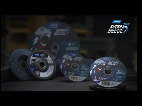 Super Bleue 5 Norton, una gamma completa per la lavorazione del metallo