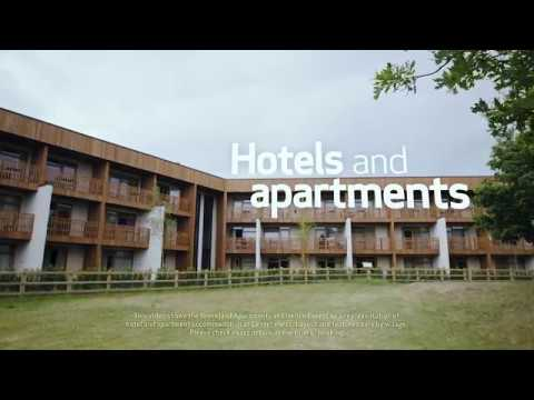 Center Parcs accommodation - hotels and apartments