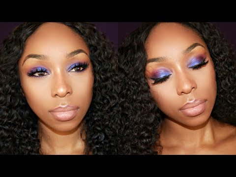 Colorful Summer Makeup for BEGINNERS | Affordable Makeup Brushes | BLACK WOMEN