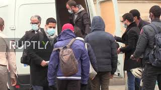 France: Masks distributed at train station as lockdown in Paris eased
