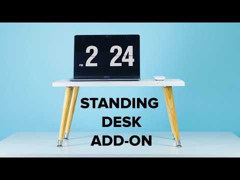 DIY Standing Desk Add-On