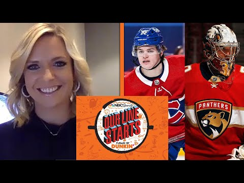 Cole Caufield, Spencer Knight among young NHL stars flourishing | Our Line Starts | NBC Sports