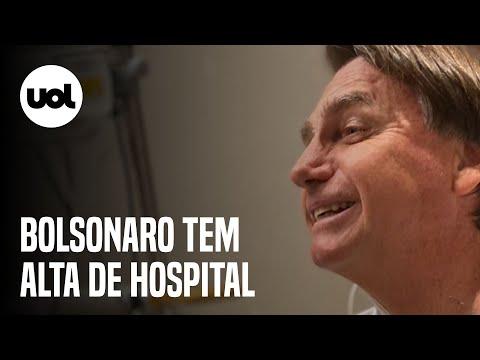 Bolsonaro tem alta do hospital em SP e deve ir para Brasília hoje