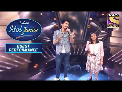 'Deewana Hua Badal' का Soothing Rendition!   Indian Idol Junior   Guest Performance