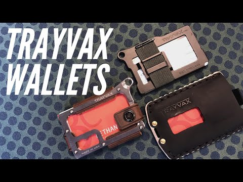 Trayvax Wallets: Buy One, Get A Summit Wallet - Everyday Carry Excellence, Made in the U.S.A.