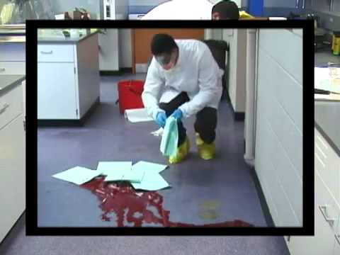 How to Clean up a Blood Spill