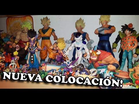 Dragon Ball - Colección de figuras. Nueva colocación y bien limpitas!