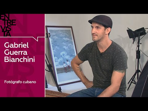 Gabriel Guerra Bianchini, fotógrafo cubano – Entrevista en RT