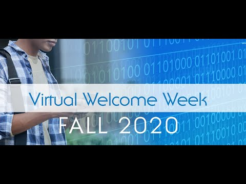 Fall 2020 Virtual Welcome Week Session I