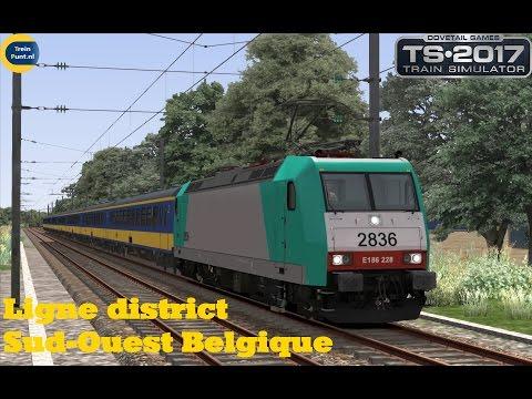 Preview | Ligne district Sud-Ouest Belgique | Train Simulator 2017