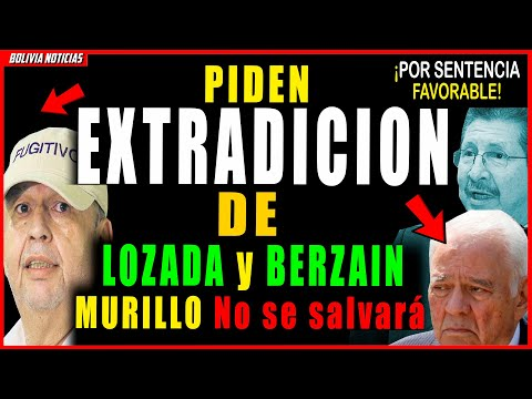 ¡ULTIMO!, PIDEN EXTR4-DICI-ON DE GONZALO SANCHEZ, Y BERZAIN. JUI-CIQ A MURILLO EN U.S.A