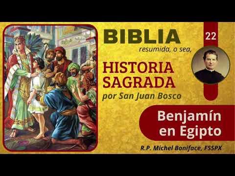 22 Benjamín en Egipto | Historia Sagrada