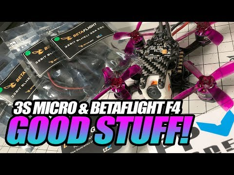 XRacer KL EX90 Micro Racing Quad, Betaflight FC & 32Bit 35A ESCs - FULL REVIEW