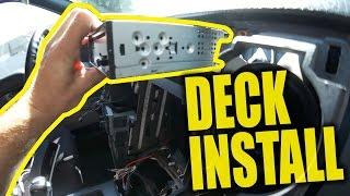 Deck Install - Part 1