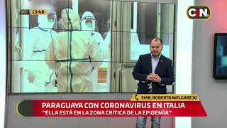 Paraguaya con caso confirmado de Coronavirus en Italia