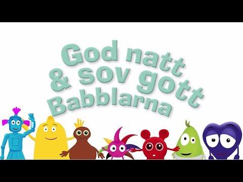 God natt & sov gott Babblarna – Trailer