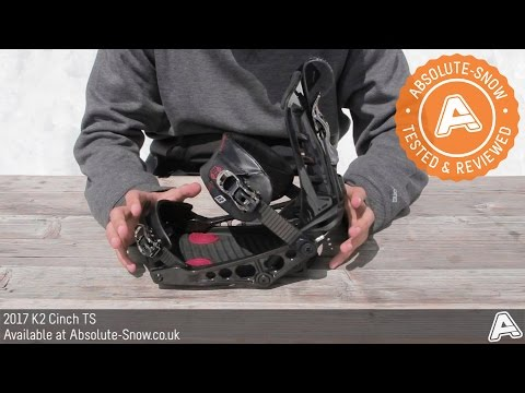 2016 / 2017 | K2 Cinch TS Snowboard Bindings | Video Review