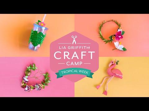 Craft Camp: Tropical Week!