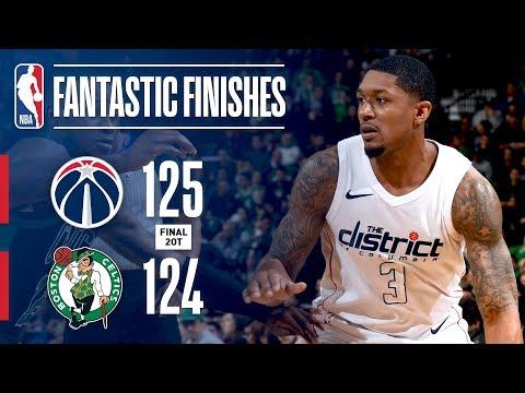 A Double Overtime Thriller: Boston Celtics vs Washington Wizards!