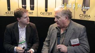 Josephson C617 Omnidirectional Microphone - Interview w/ David Josephson at AES 2011
