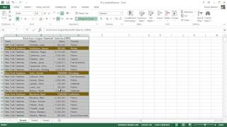 Microsoft Excel 2013 Tutorial - 14 - Format Painter and Protecting Workbooks