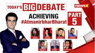 #AatmanirbharSpecialSeries: TOP INDUSTRY VOICES ON NEWSX | NewsX - NEWSXLIVE