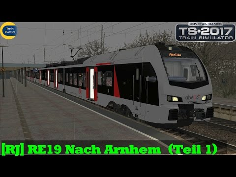 [RJ] RE19 Nach Arnhem  (Teil 1) | Flirt 3 Abellio | Train Simulator 2017