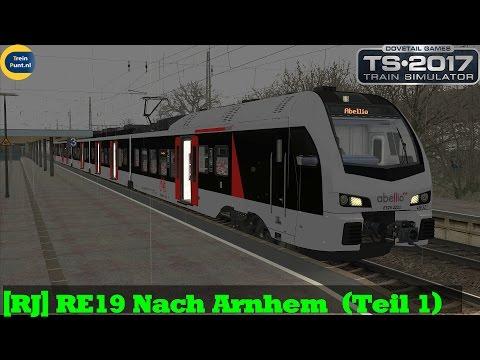 RJ RE19 Nach Arnhem  Teil 1  Flirt 3 Abellio  Train Simulator 2017