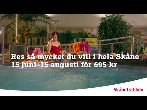 Skånetrafiken: Köp sommarbiljetten!