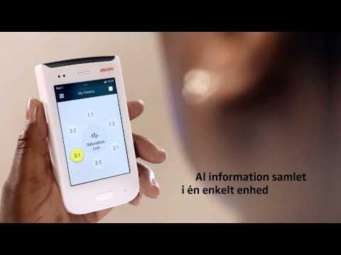 Ascom Myco – en robust smartphone for sundhedsvæsenet - kortfilm (DK)