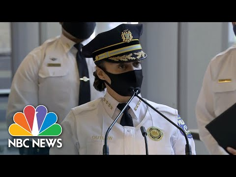 Philadelphia Police Detail Arrests Of Armed Men Near Ballot-Counting Facility   NBC News NOW