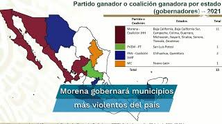 Se pintan de guinda los focos rojos por violencia en México