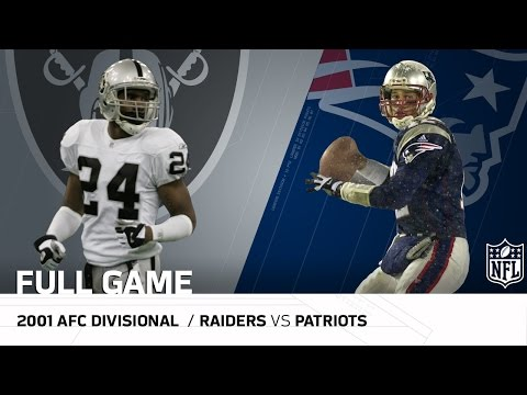 """2001 AFC Divisional Round: Raiders vs. Patriots 