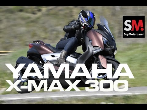 Yamaha X-MAX 300 2017: Prueba Scooter [FULLHD]