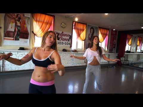 Урок движения. Belly dance. Тренер - Наталия Беккер (Эбру)