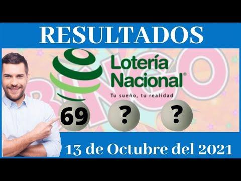 Lotería Nacional noche Miércoles 13 de Octubre del 2021 #LoteriaNacional