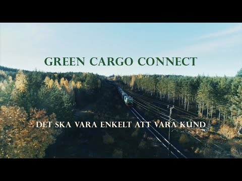 Green Cargo Connect - för enklare och snabbare kundkommunikation