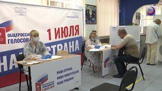 En Rusia proceso de votación de enmiendas constitucionales bajo medidas de seguridad por la Covid-19