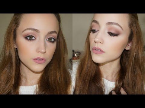All Matte Makeup Tutorial | Daytime Smokey Eye