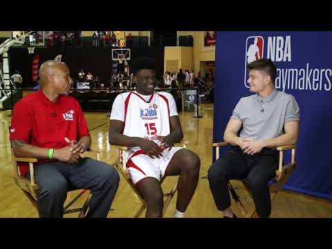 NBA Playmakers Sit Down with Young Phenom, Jarace Walker
