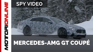 Mercedes AMG GT Coupe – Spy Video