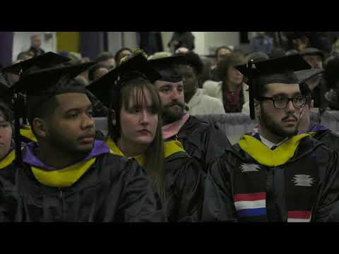 West Chester University - Winter 2019 Commencement - 1PM Ceremony