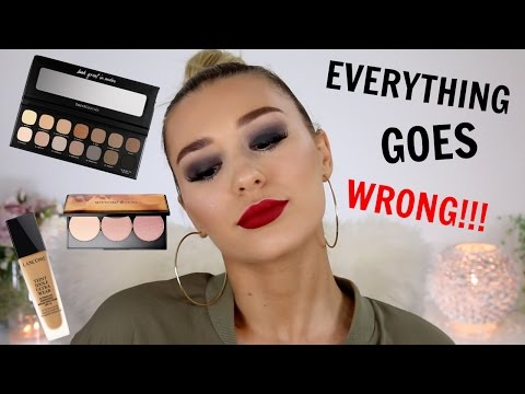 Full Face Of First Impressions.... FAIL!!!