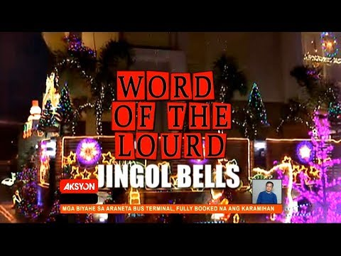 #WordOfTheLourd | JINGLE BELLS