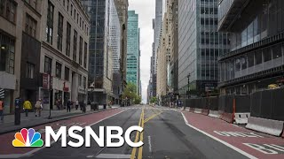 Gov. Cuomo: We Look At The Metrics, Not Politics When deciding to Reopen   Stephanie Ruhle   MSNBC