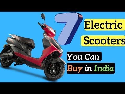 Top 7 Best Electric Scooters You Can Buy in India 2019